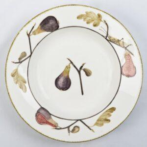 Fig Flat Rimmed Bowl