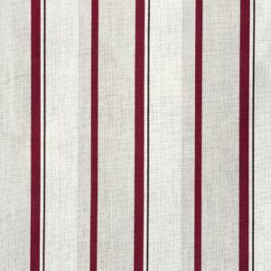 Narrow Burgundy Stripe